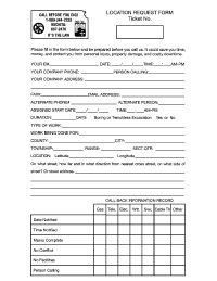 Locate Request Form