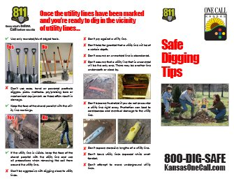 Safe Digging Tips